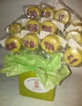 Personalized Lemon Cake Pops
