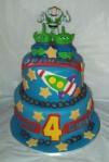 Buzz Lightyear 2-Tier Cake