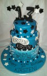 """3-Tier """"Fault In Our Stars"""" Cake"""