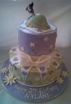 2-Tier Princess Tiana Cake