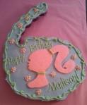 #6 Barbie Cupcake Cake
