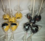 Power Ranger  & #5 Block Cake Pops