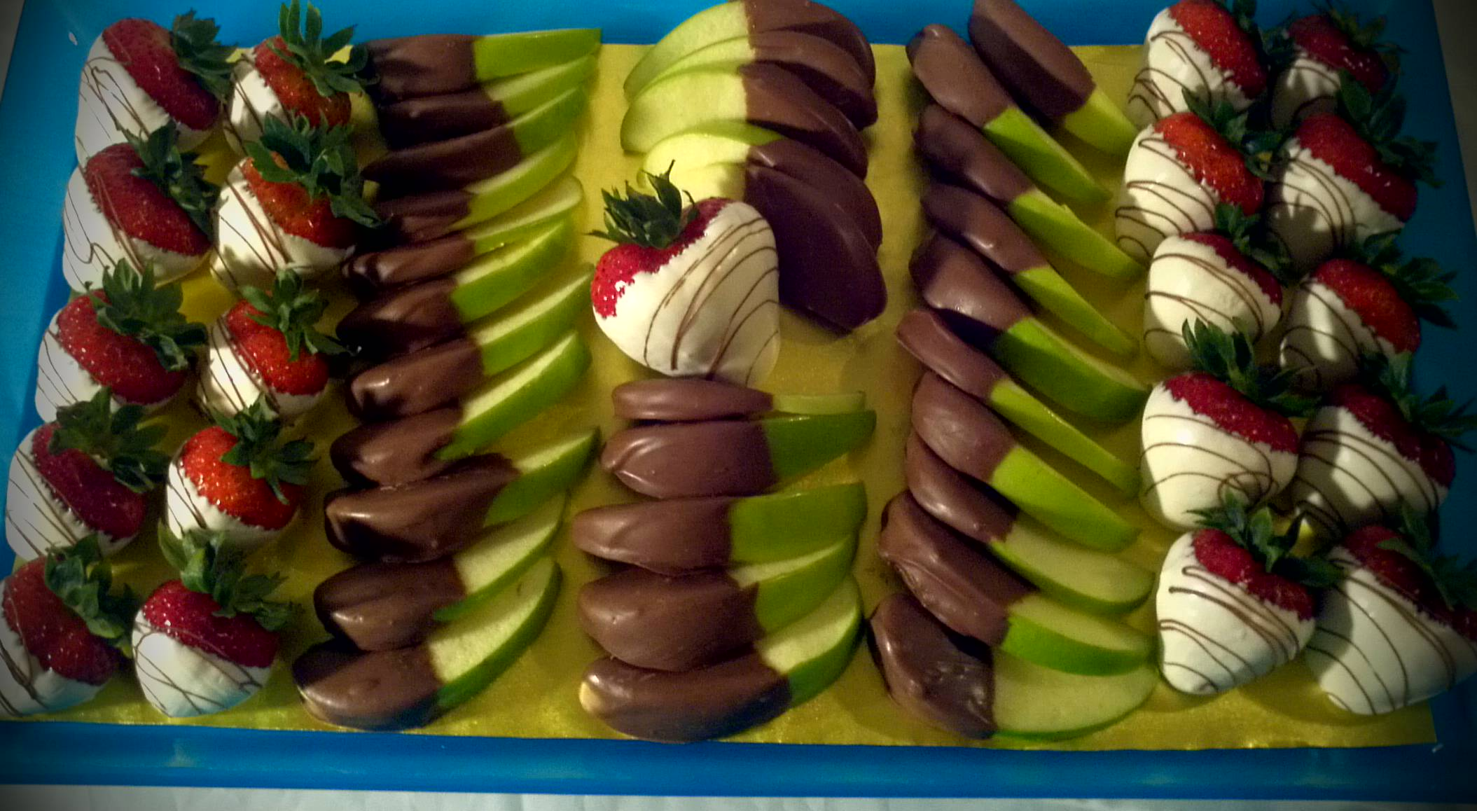 chocolate covered fruit cactus fruit