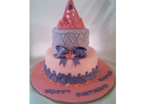 2 Tier Princess Cupcakes