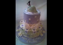 2 Tier Princess Tiana Cake