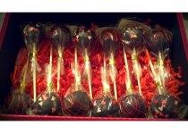 Black Confetti & Drizzled Cake Pops