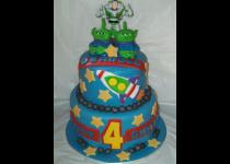 Buzz Lightyear 2 Tier Cake