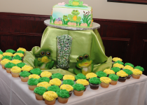Frog Cake Table