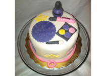 Girly Cake Accessories Cake