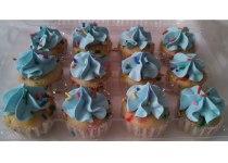 It's A Boy! Funfetti Cupcakes