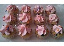It's A Girl! Funfetti Cupcakes