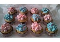 It's Twins! Funfetti Cupcakes