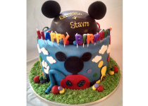 Mickey Mouse Clubhouse 2 Tier Cake