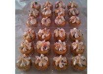 Mini Funfetti Cupcakes