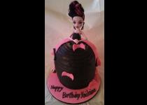 Monster High Draculaura Doll Cake