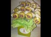 Personalized Lemon Cake Pops
