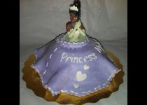 Princess Tiana Mini Cake