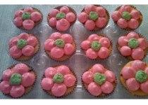 Regular Size Flower Cupcakes