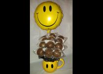 Smiley Cake Pops