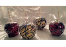 Spiderman Theme Chocolate Apples