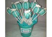 Tiffany & Co. Chocolate Cake Pops