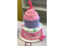 Cupcake 2 Tier Cake