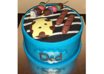 Dad's Grill Cake