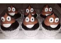 Emoji Chocolate Cupcakes