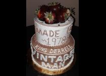 Vintage Man Cake